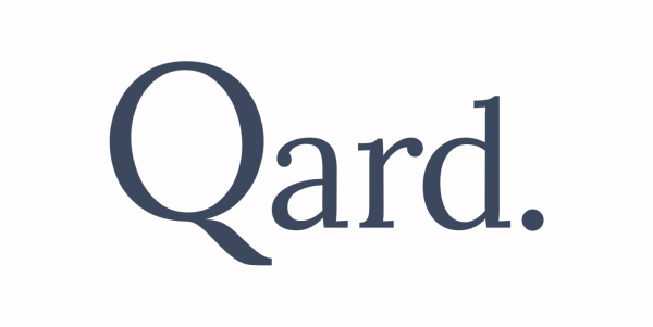 Logo blue marketplace seller vendeur MKP Qard. Qard Qard Finance Qardfinance